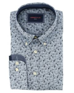 GCM Originals Hemd regular fit grau