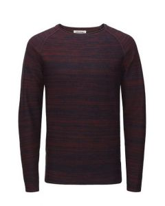Jack en Jones knit crew sweater, marine