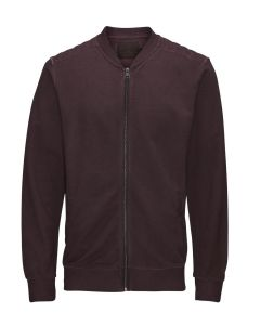 Jack und Jones JORSAFE sweater, rot (Syrah)