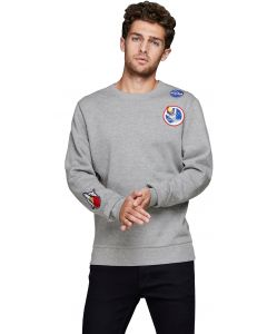 Jack & Jones Jornasa sweater grau